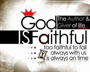 God is faithful - HD