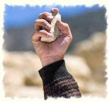 stone throwing